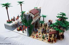 LCC-Loreos-GC1, The Palace of Lorean.: A LEGO® creation by Mark Erickson : MOCpages.com
