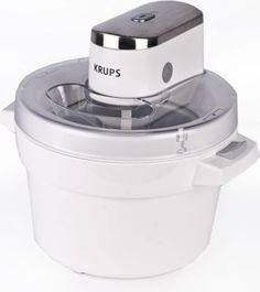 Krups Ice Cream Maker (White and Silver) Ice cream making has never been so easy! Specialty Appliances, Small Appliances, Kitchen Appliances, Fresh Outfits, Ice Cream Maker, Buy Shoes, Summer Time, Fashion Accessories, Easy