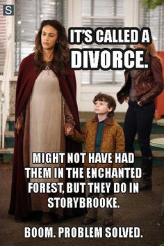 Why doesn't Robin just DIVORCE Marian if he's in love with Regina? Divorce is not unheard of in Storybrooke - hello, David and Kathryn anyone?! Then Regina can stay good, Marian can live & move on (which she wouldn't have without the time travel), BOOM, problem solved.