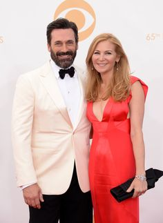 2013 Emmy Awards - Jon Hamm and Jennifer Westfeldt