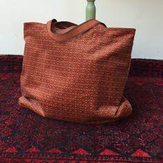 Vintage fabric Handmade bag