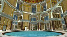 visuale dell'app Back to Caracalla