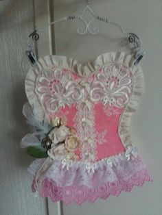 Shabby chic wallhanger
