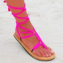 Chula Pop! All colors and sizes! Great sandals for travelling because you only need one pair and additional strings!