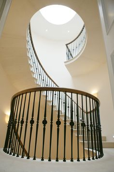 Image result for london curved stairs