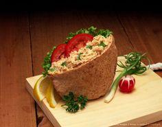 Tuna Salad in pita