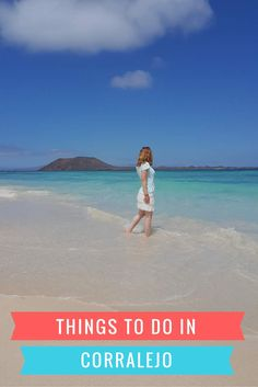 A list of the best things to do in Corralejo, Fuerteventura, if you plan on spending your holiday here. Explore the beaches and the town of Corralejo.