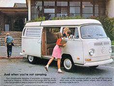 1972 VW Campmobile brochure page 12