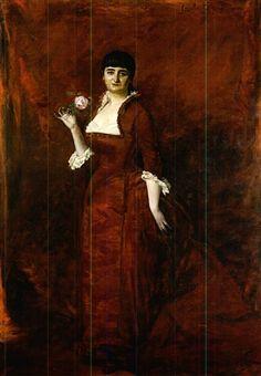 Portrait de la Comtesse de Saint-Cyr, Paris by Charles Emile Auguste Carolus-Duran