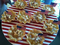 Patriotic Apple Pies - perfect for  4th of July picnics.