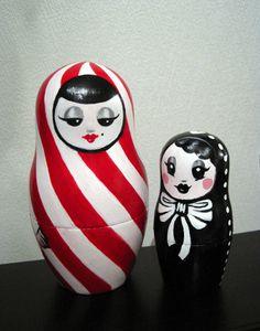 Through the Looking Glass: matryoshka dolls