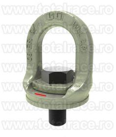 NOU! Inel surub rotativ 360° SL-150M SLIDE-LOC CROSBY Dimensiune M16x2x40 , WLL : 1.50 tone Mecanismul de blocare unic face inelul de ridicare potrivit pentru atasarea rapidă pe suprafata de ridicare Pret si date tehnice : http://echingi.ro/produse/inele-ridicareancorare/inel-surub-rotativ-sl-150m-slide-loc/sl-150m-m16x2x40