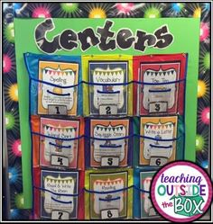 Literacy Centers Made EASY for K-5! Teaching Outside the Box