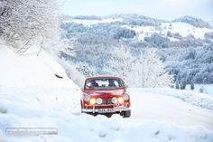 Der Schnee fehlte nicht an der AvD Histo Monte 2017 © Plusrallye #AvDHistoMonte #zwischengas #classiccar #classiccars #oldtimer #oldtimers #auto #car #cars #vintage #retro #classic #fahrzeug