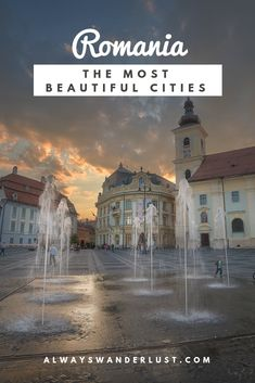 Romania is home to many wonders and its cities are magical. Here are the most beautiful cities in Romania you should add to your bucket list!  #romania #travel #europe #cities