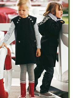 Schnittmuster: Trägerkleid -Bouclé - Kleider - Mädchen - Gr. 92 - 188 - Kinder - burda style