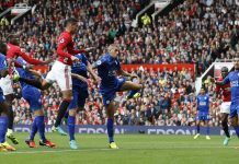 Report – Manchester United 4-1 Leicester City: Wayne Rooney dropped as United bounce back to winning ways