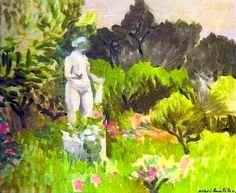 Le jardin de Renoir à Cagnes par Henri Matisse