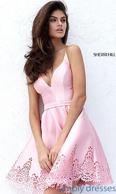 Shop Sherri Hill party dresses and homecoming dresses at Simply Dresses. Lovely…