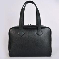 HERMES VICTORIA 35 BAG BLACK SILVER - Hermes Victoria - Hermes Bags