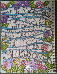 LINDA KITTMER'S FIBRE ART, PHOTOGRAPHY & JOURNALLING: I'm Grateful to be Participating in a Blog Hop Featuring Terri Stegmiller's StencilGir...