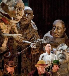 Giant Steampunk Puppets?