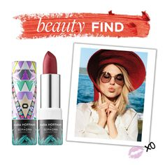 """Beauty Find: Mara Hoffman for Sephora Lip Balm"" by polyvore-editorial ❤ liked on Polyvore featuring Sephora Collection and beautyfind"