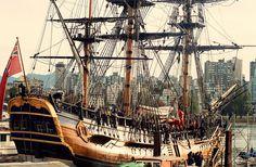 Capt. Cook's HMS Endeavour in Vancouver | Flickr: partage de photos!