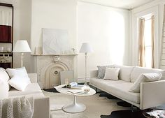 Unexpected? Yes, but in a good way! 2016 Benjamin Moore Color of the Year: Simply White.