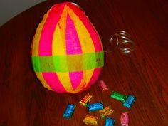 Paper Mache Egg Pinata