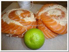salmon pinwheels   Crab Stuffed Salmon Pinwheels w/Browned Butter Wine Sauce   Greg's ...