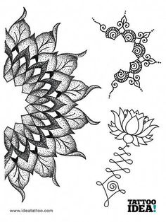Resultado de imagen de tattoo tree mandala #Mandalatattoo