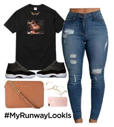 """""""Wayy"""" by amickens1210 on Polyvore featuring Hot Topic and MICHAEL Michael Kors"""