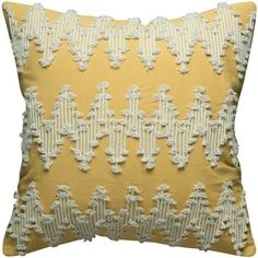 Rizzy Home Frayed Chevron Throw Pillow ($48) ❤ liked on Polyvore featuring home, home decor, throw pillows, gold, zig zag throw pillows, zippered throw pillows, rizzy home, chevron home decor and chevron throw pillows