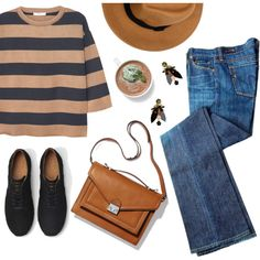 A fashion look from October 2015 featuring 3/4 sleeve shirts, Marni i wool hat. Browse and shop related looks.