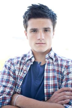 Josh Hutcherson- Cute as can be, and will   be playing Peeta in the upcoming Hunger Games movie