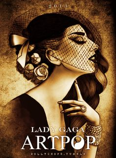 Lady Gaga ARTPOP , I love how this looks
