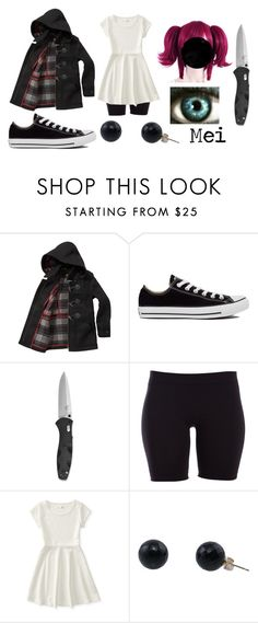 """""""Durarara (Oc)"""" by ironically-a-strider21 ❤ liked on Polyvore featuring Barbour, Converse, Pieces, Aéropostale, women's clothing, women, female, woman, misses and juniors"""