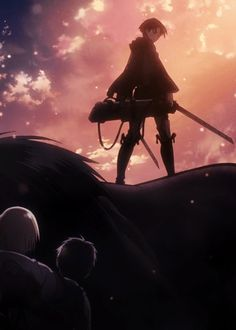 attack on titan gif | I was listening to Fall Out Boy as the gif played and it just fit so well