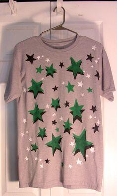Green stars on Grayness