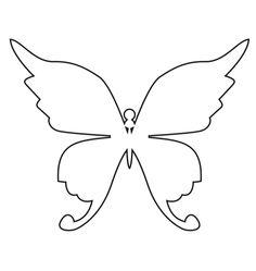 burda style -  Schmetterlinge für den Parka - Wenn der alter Parka Schmetterlinge anzieht. Kostenlose Schmetterlings-Vorlagen finden Sie in unserem Downloadpdf                                                                                                                                                     Mehr
