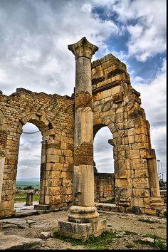 LEBANON, SOME ROMAN RUINS