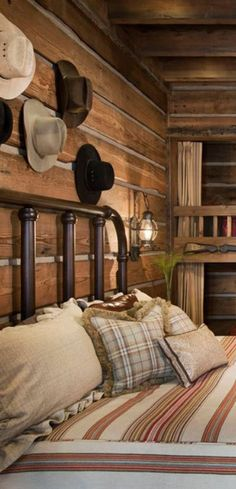 Cathedral Mountain Lodge - Rustic Log Bedrooms | Rustic Decor ...