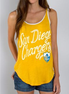 NFL San Diego Chargers Tank