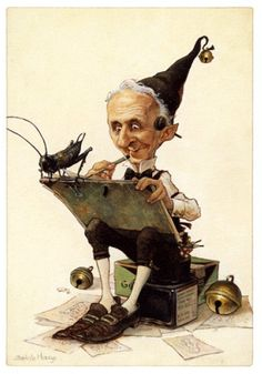 Gnomie practices his drawings and letters for the big art contest next month.- Jean Baptiste Monge