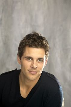 James Marsden.... age down some...... you're the same age as my mother.