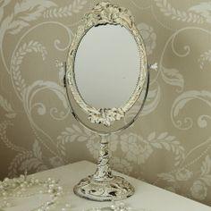 Rustic Cream Swing Vanity Mirror - Melody Maison®