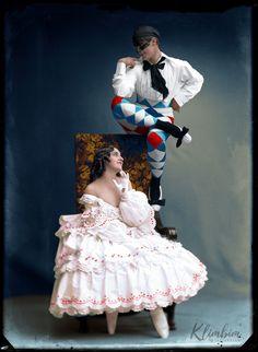 Vintage Photographs, Vintage Photos, Famous Dancers, Vintage Ballet, Ballet Art, Imperial Russia, Female Photographers, Hand Coloring, Lady