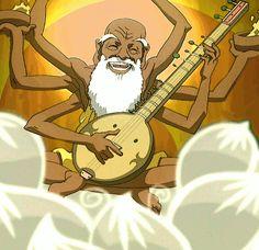 guru pathik explains chakras to Ang the avatar (VIDEO: good explanation for kids)