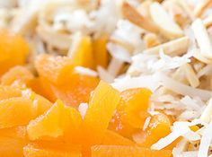 Apricot, Coconut and Almond Bars Recipe | Just A Pinch Recipes